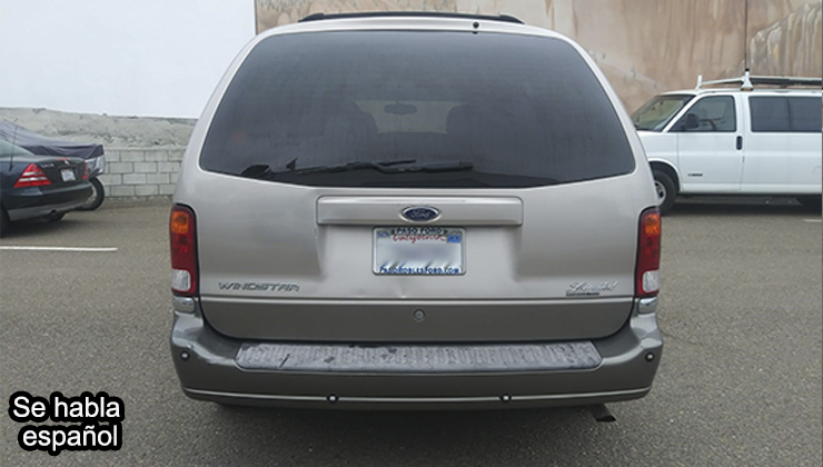 FORD WINDSTAR PASSENGER LIMITED MINIVAN 4D 2003