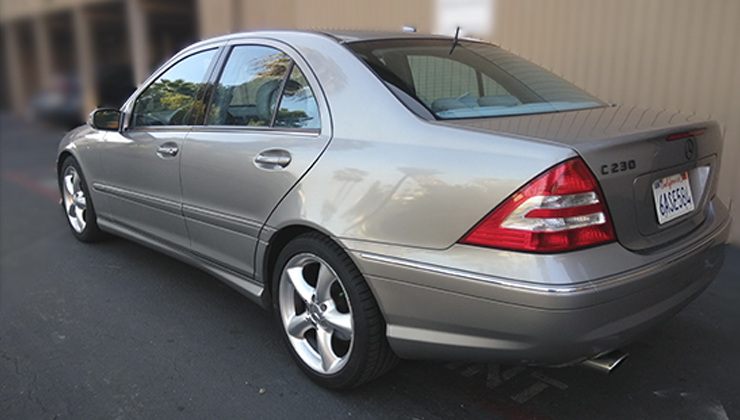 MERCEDES-BENZ C-CLASS C 230 SPORT SEDAN 4D 2006