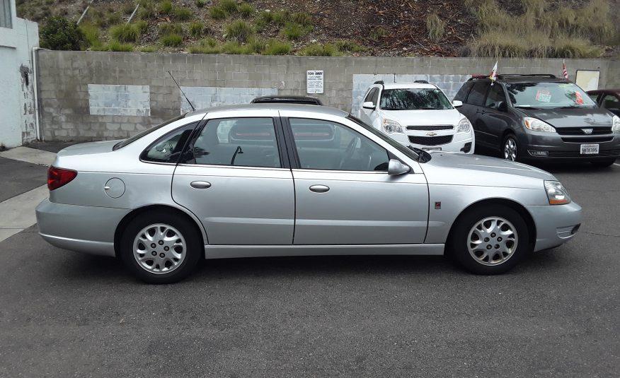 SATURN L-SERIES L200 SEDAN 4D 2003