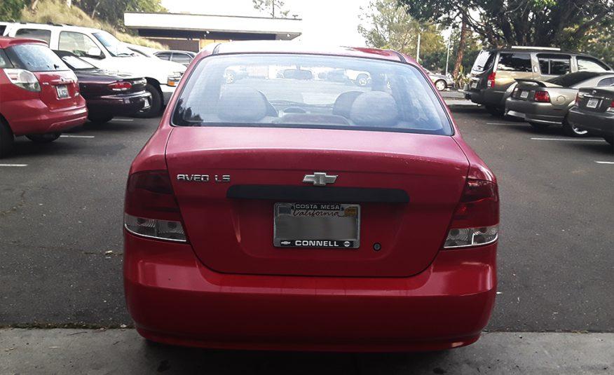 Chevrolet Aveo LS 2004