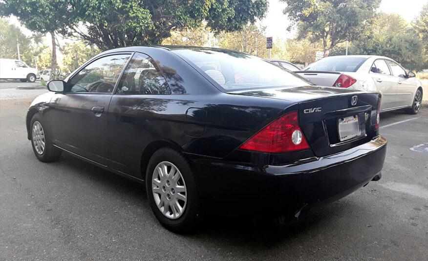 Honda Civic LX Coupe 2D 2004
