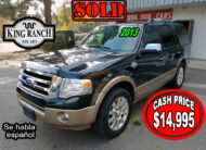 Ford Expedition King Ranch 2013